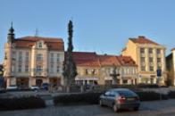 Severní část náměstí.