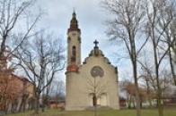 Secesní kostel CČSH z roku 1902.