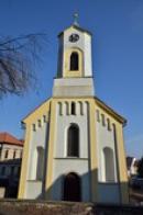 Kostel sv. Barbory.
