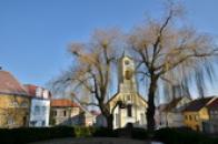 Kostel sv. Barbory na Tržním náměstí.