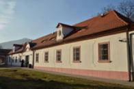 Západní část klášterního areálu.