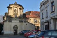 Kostel sv. Kateřiny.
