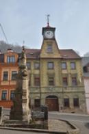 Budova bývalé radnice.