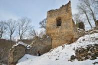 Jihozápadní věž.