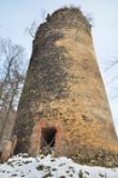 Velká válcová věž.