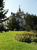 Na zdejším zámku pobývala i Žofie Chotková...