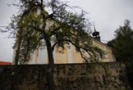 Zdejší původně gotický kostel sv. Maří Magdaleny.