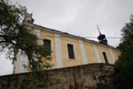 Zubrnický kostel sv. Maří Magdaleny.