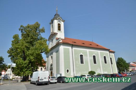 Kostel sv. Vavřince.