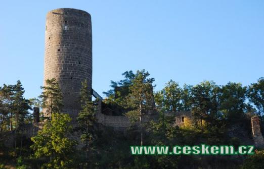 Hrad vystavěný ve 2. polovině 13. století.