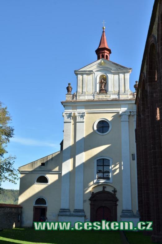 Klášterní kostel.