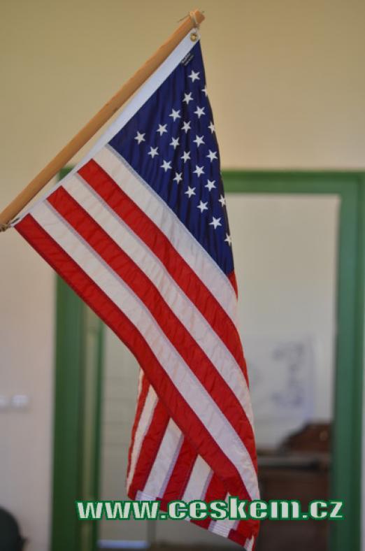 Vlajka nové vlasti.
