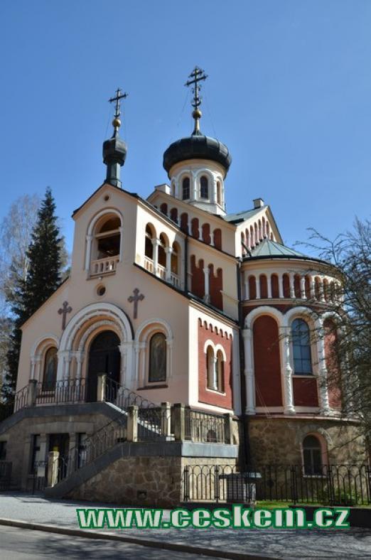 Kostel svatého Vladimíra.