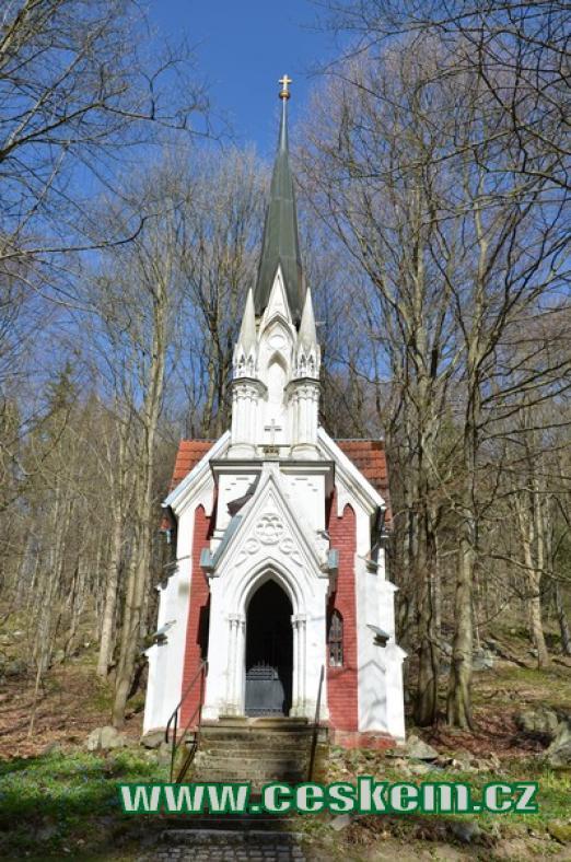 Novogotická Laskova kaple.