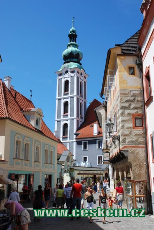 Cestou ke kostelu sv. Jošta.
