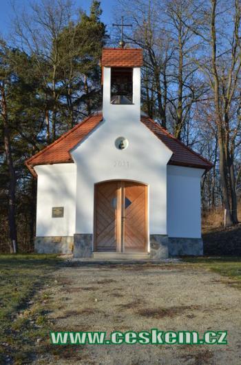 Kaple na Petrově Hůrce.
