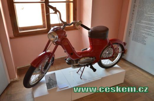 Moped Jawa 50, typ 551.