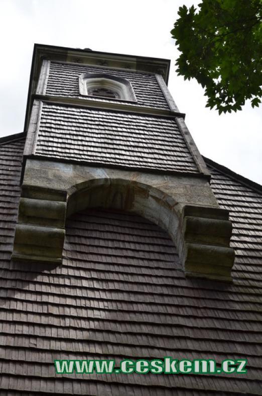 Věž kostela Božího těla.