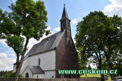 Poutní kostel Božího těla.