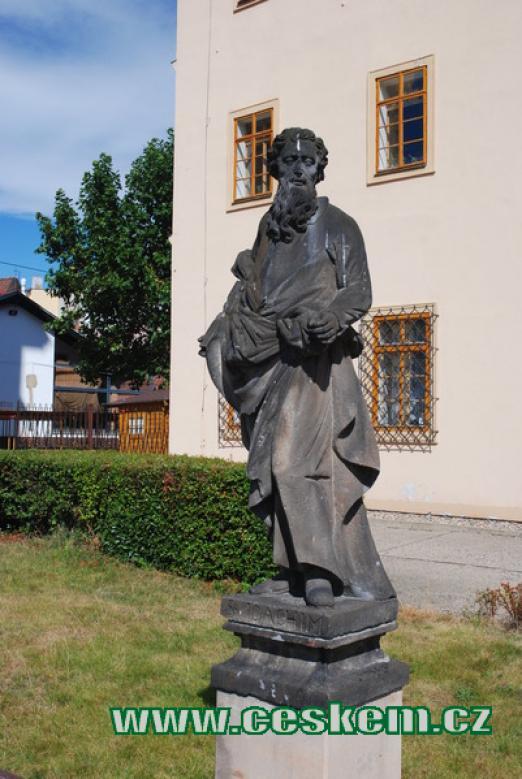 Socha sv. Jáchyma.