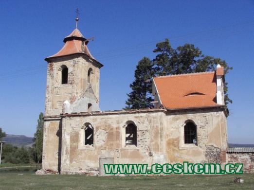 Kostel Jana Evangelisty v říjnu 2006.