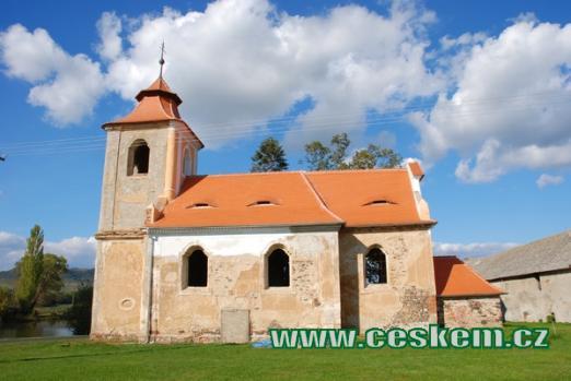 Kostel svatého Jana Evangelisty.