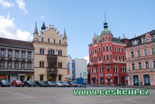 Jižní část Masarykova náměstí.