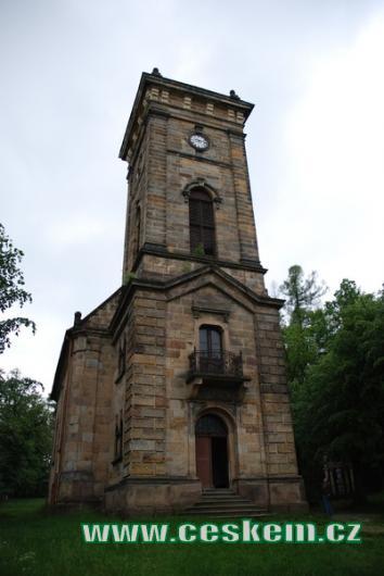 Rokoková kaple Božího hrobu.