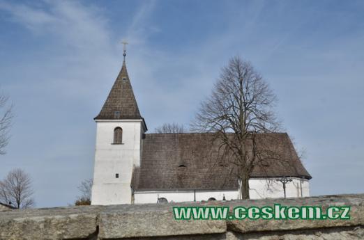 Kostel svatého Víta.