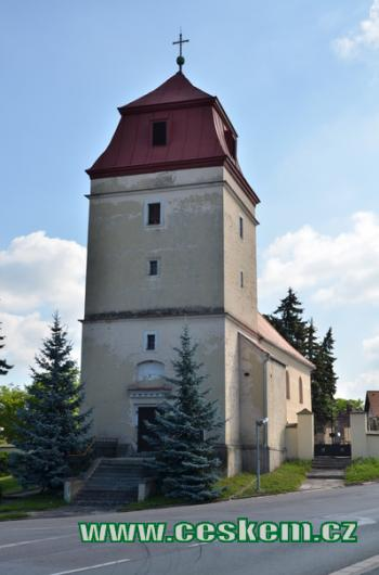 Kostel sv. Michaela.