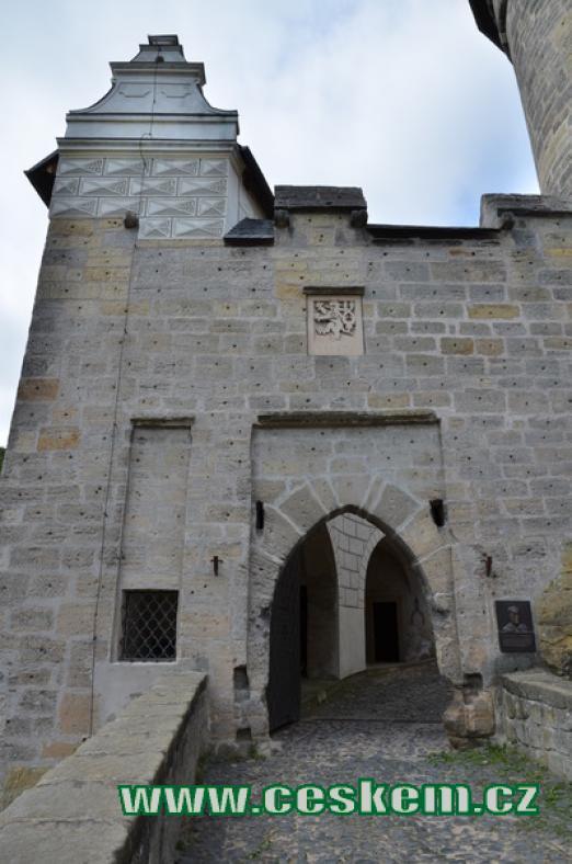 Původní první brána.