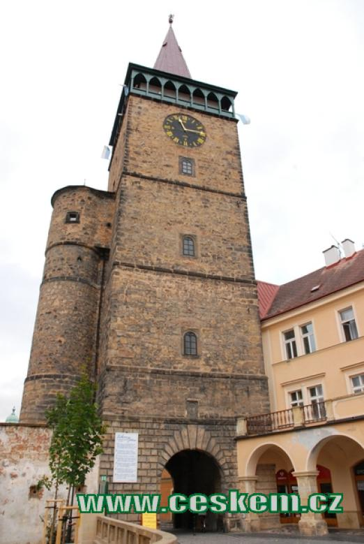 Valdická brána jeden ze symbolů Jičína.