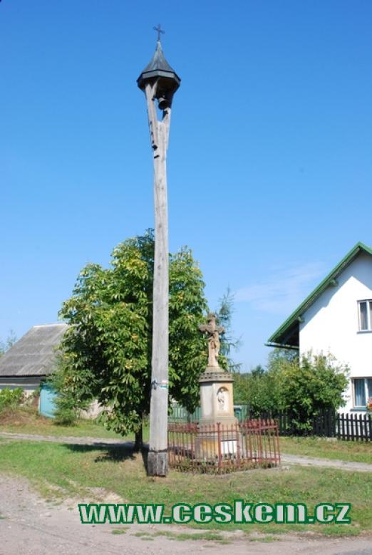 Místní zvonice.