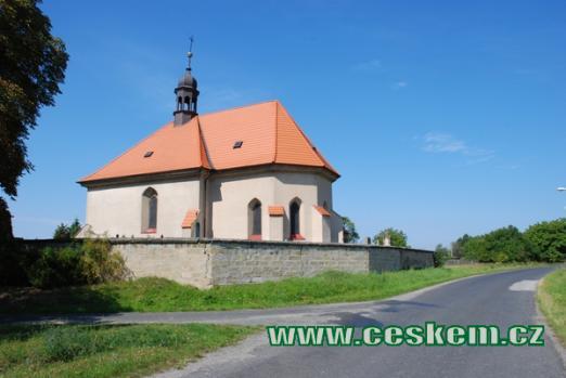 Původně gotický kostel sv. Jiří.