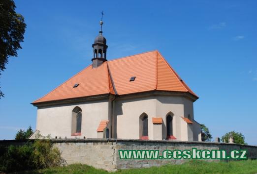 Původně gotický kostel svatého Jiří.