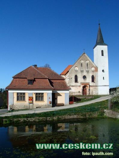 Kostel svaté Alžběty.