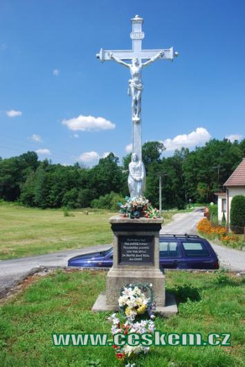 Křížek z roku 1888.