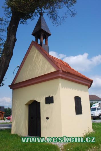 Kaple sv. Petra a Pavla.