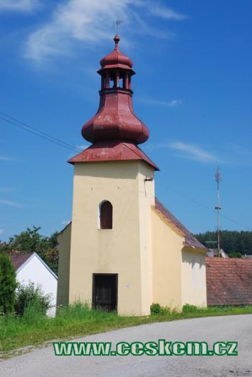 Kaple v Jižné.