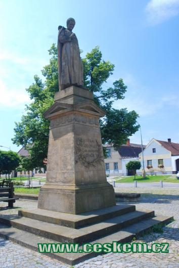 Socha Boleslava Jablonského.