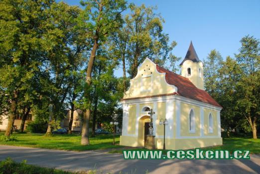 Kaple sv. Jana Nepomuckého v Novosedlech.