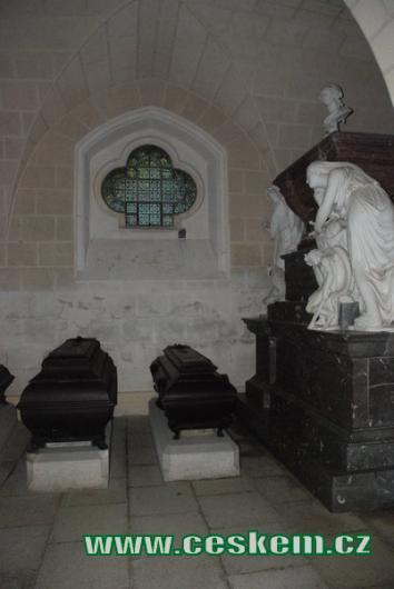 Krypta hrobky...