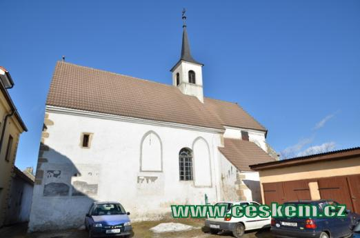 Kostel svatého Jana Křtitele.