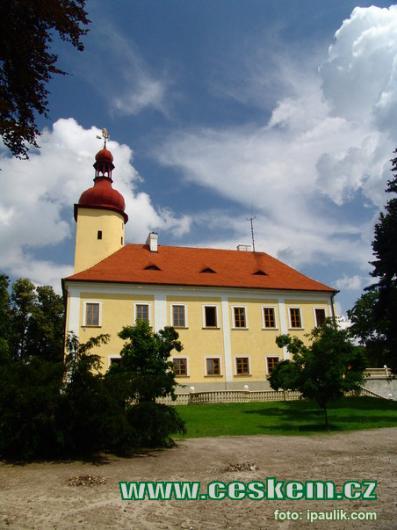 Pohled na zámek.
