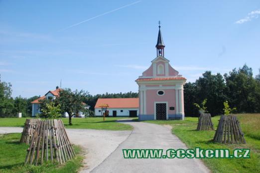 Kaple z roku 1761.