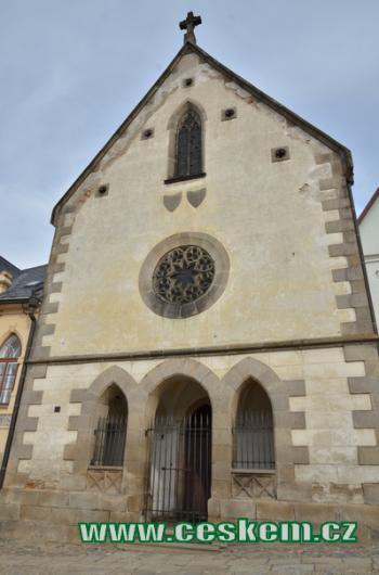 Kostel svaté Anny.