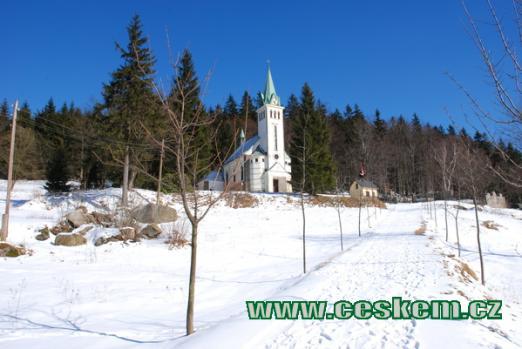 Kostel sv. Antonína z roku 1932.