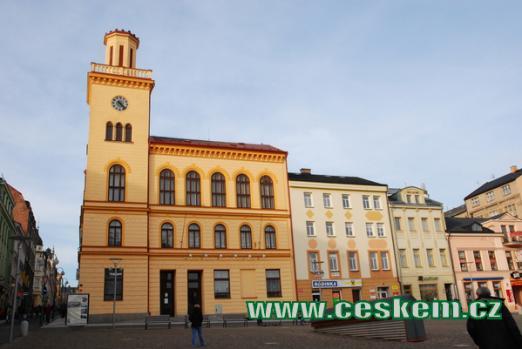 Budova staré radnice.