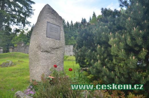 Pomník Gustava Leuterta.