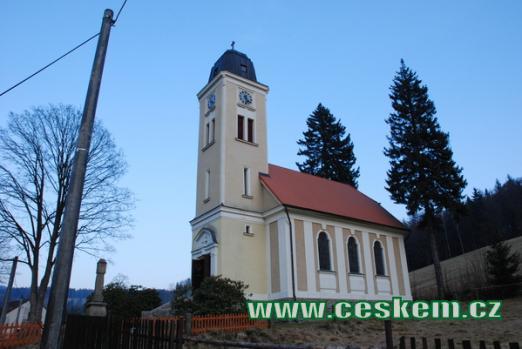 Kostel sv. Josefa z let 1914 a 1915.